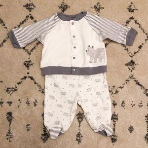 Bear Baby Boy Newborn Outfit